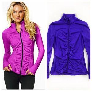 Victoria's Secret VSX purple sports jacket sz M
